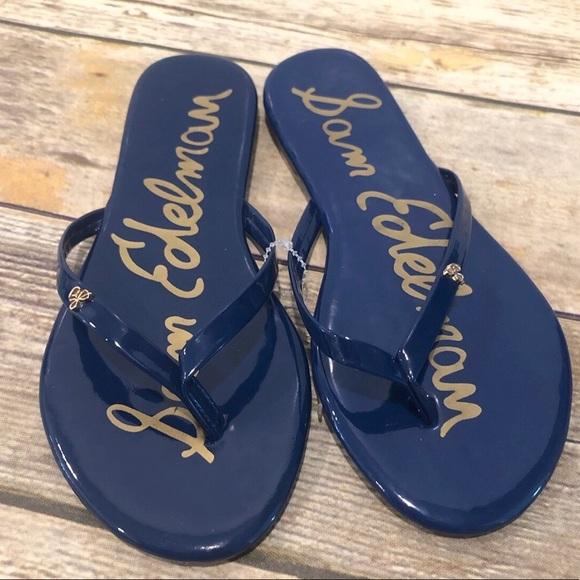 Sam Edelman Other - Sam Edelman Olivia Charm Thong Sandals